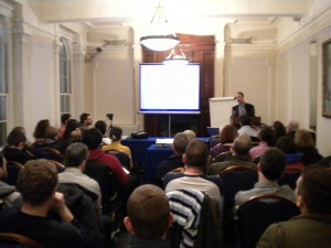 origins science talks in Ireland have been well attended in the past