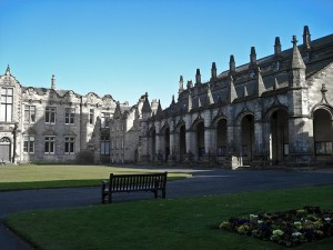 Uk origins science tour begins in St. Andrews College