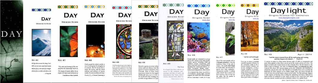 Daylight magazines for Catholics, countering false macro evolution beliefs